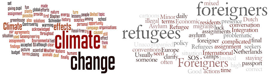 climate refugees wordle