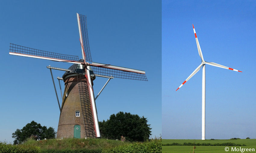 windmolen windurbine